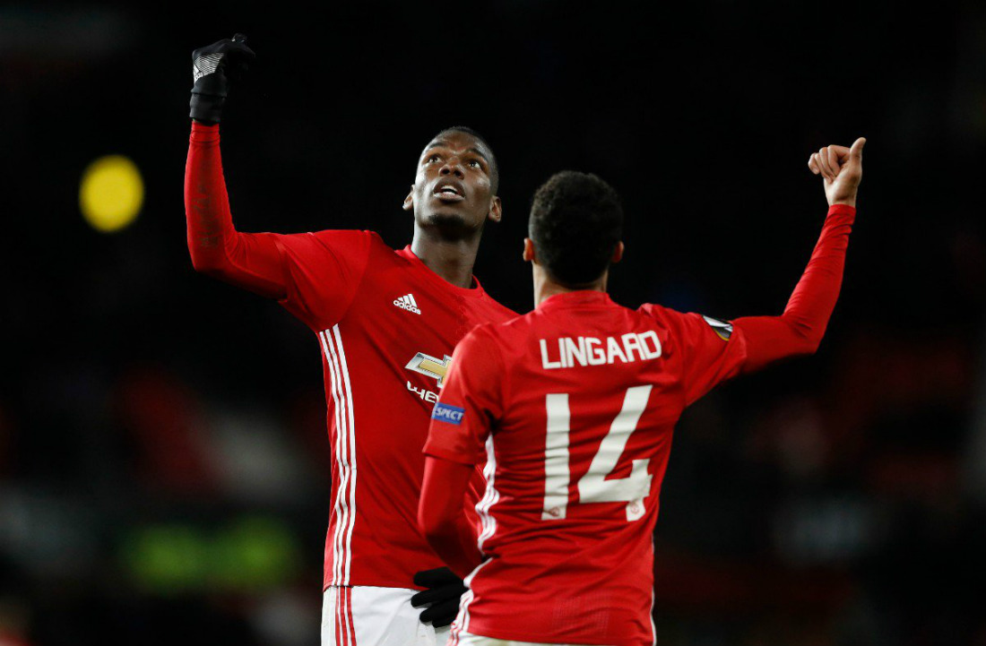 Paul Pogba dan Lingard