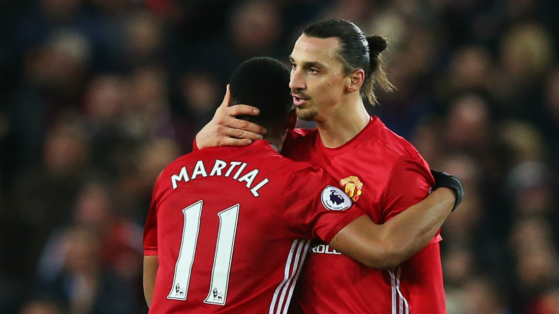 zlatan-ibrahimovic-anthony-martial-manchester-united